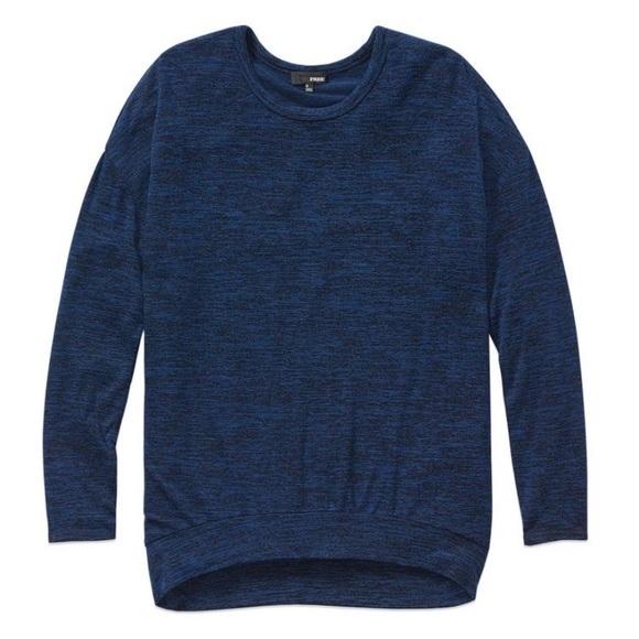 Aritzia Wilfred Free Arizona T-Shirt Blue Reposa M